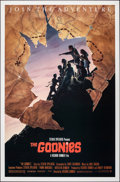 "Movie Posters:Adventure, The Goonies (Warner Bros., 1985). Rolled, Very Fine/Near Mint. One Sheet (27"" X 41"") SS Style B. John Alvin Artwork. Adventu..."