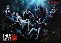 "True Blood (HBO, 2010). Rolled, Very Fine+. Television One Sheets (10) (27"" X 40"") SS Advance, Cast Style &..."