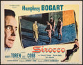 "Movie Posters:Drama, Sirocco (Columbia, 1951). Very Fine-. Lobby Card (11"" X 14""). Drama.. ..."