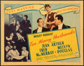 "Movie Posters:Comedy, Too Many Husbands (Columbia, 1940). Fine+. Title Lobby Card (11"" X 14""). Comedy.. ..."