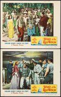 "Movie Posters:Adventure, Wake of the Red Witch (Republic, 1949). Fine/Very Fine. Lobby Cards (2) (11"" X 14""). Adventure.. ... (Total: 2 Items)"