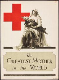 "World War I Propaganda (The Atlantis Press, 1917). Rolled, Very Fine-. Poster (20.5"" X 27.5""). ""The Great..."