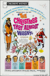 The Christmas That Almost Wasn't & Other Lot (Childhood Productions, R-1972). Folded, Very Fine. One Sheets (2)...