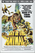 """Movie Posters:Horror, Day of the Animals (Film Ventures International, 1977). Folded, Very Fine-. One Sheets (2) (27"""" X 41"""") Two Styles. Horror.. ... (Total: 2 Items)"""
