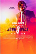 "Movie Posters:Action, John Wick: Chapter 3 - Parabellum (Summit Entertainment, 2019). Rolled, Very Fine/Near Mint. One Sheet (27"" X 40"") DS Advanc..."
