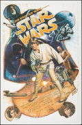 "Movie Posters:Science Fiction, Star Wars: The First Ten Years (Killian Enterprises, 1987). Rolled, Very Fine-. Screen Print (27"" X 41"") Drew Struzan Artwor..."