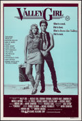 "Movie Posters:Comedy, Valley Girl (Atlantic Releasing, 1983). Folded, Fine/Very Fine. Australian One Sheet (27"" X 40""). Comedy.. ..."