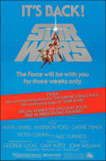 "Movie Posters:Science Fiction, Star Wars (20th Century Fox, R-1979). Folded, Very Fine-. One Sheet (27"" X 41"") Tom Jung Artwork. Science Fiction.. ..."