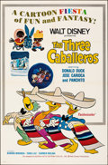 """Movie Posters:Animation, The Three Caballeros & Other Lot (Buena Vista, R-1977). Folded, Very Fine-. One Sheets (4) (27"""" X 41""""). Animation.. ... (Total: 4 Items)"""