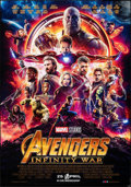 "Movie Posters:Action, Avengers: Infinity War (Walt Disney Pictures, 2018). Rolled, Very Fine+. Dutch Poster (37.5"" X 39.25"") DS Advance. Action.. ..."