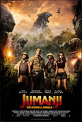 "Movie Posters:Adventure, Jumanji: Welcome to the Jungle (Columbia, 2017). Rolled, Very Fine/Near Mint. International One Sheet (27"" X 40"") DS Advance..."