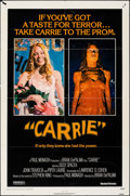 """Movie Posters:Horror, Carrie & Other Lot (United Artists, 1976). Folded, Fine/Very Fine. One Sheets (2) (27"""" X 41""""). Horror.. ... (Total: 2 Items)"""