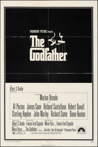 """The Godfather & Other Lot (Paramount, 1972). Folded, Overall: Fine-. One Sheets (2) (27"""" X 41""""). S. Ne..."""