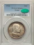 1922 50C Grant No Star MS64+ PCGS. CAC. PCGS Population: (1614/1275 and 11/52+). NGC Census: (1571/931 and 8/27+). CDN:...