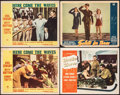 "Movie Posters:Musical, Here Come the Waves & Other Lot (Paramount, 1944). Fine/Very Fine. Lobby Cards (4) (11"" X 14""). Musical.. ... (Total: 4 Items)"