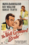 """Movie Posters:Comedy, The Well Groomed Bride & Other Lot (Paramount, 1946). Folded, Fine/Very Fine. One Sheet (27"""" X 41"""") & Lobby Card (11"""" X 14"""")... (Total: 2 Items)"""