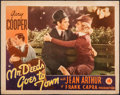 "Movie Posters:Comedy, Mr. Deeds Goes to Town (Columbia, 1936). Fine+. Lobby Card (11"" X 14""). Comedy.. ..."