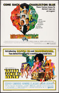 "Movie Posters:Blaxploitation, Cotton Comes to Harlem & Other Lot (United Artists, 1970). Rolled, Overall: Very Fine-. Half Sheets (2) (22"" X 28""). Robert ... (Total: 2 Items)"