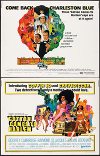 """Cotton Comes to Harlem & Other Lot (United Artists, 1970). Rolled, Overall: Very Fine-. Half Sheets (2) (22"""" X..."""