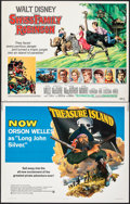 """Movie Posters:Adventure, Treasure Island & Other Lot (National General, 1972). Rolled, Overall: Fine/Very Fine. Half Sheets (18) (22"""" X 28""""). Adventu... (Total: 18 Items)"""