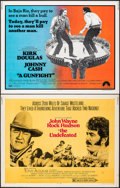 """Movie Posters:Western, The Undefeated & Other Lot (20th Century Fox, 1969). Rolled, Overall: Fine+. Half Sheets (12) (22"""" X 28""""). Western.. ... (Total: 12 Items)"""