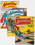 Silver Age (1956-1969):Superhero, Adventure Comics Group of 9 (DC, 1953-63) Condition: Average VG.... (Total: 9 Comic Books)