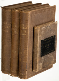 Nathaniel Hawthorne. Grandfather's Chair. A History for Youth. Boston: E. P. Peabody, 1841. First edition.... (Total: 4...