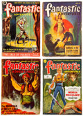 "Books:Science Fiction & Fantasy, Group of Sixteen Pulp Magazines, comprising: Thirteen issues of Fantastic Adventures, six ""British Editions"" and s... (Total: 2 Items)"