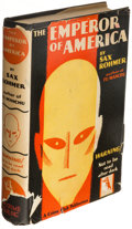 Books:Mystery & Detective Fiction, Sax Rohmer. The Emperor of America. New York: The Crime Club, Inc., 1929. First edition. . ...