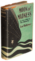 Books:Mystery & Detective Fiction, Sax Rohmer. Moon of Madness. Garden City: Doubleday, Page & Company, 1927. First American edition.. ...