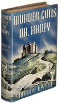 Books:Mystery & Detective Fiction, Anthony Wynne. Murder Calls Dr. Hailey. Philadelphia: J. D. Lippincott Company, [1938]. First American edition.. ...