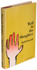 Books:Mystery & Detective Fiction, Ruth Rendell. Wolf to the Slaughter. New York: The Crime Club, 1968. First American edition.. ...