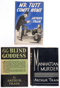 Books:Mystery & Detective Fiction, Arthur Train. Group of Three First Editions. New York: Charles Scribner's Sons, 1926-1941.. ... (Total: 3 Items)