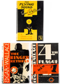 Books:Mystery & Detective Fiction, Edgar Wallace. Group of Three First American Editions. New York: The Crime Club, Inc., 1929-1931. . ... (Total: 3 Items)
