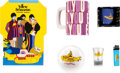Music Memorabilia:Memorabilia, The Beatles Yellow Submarine Ashtray, Stationary, Shot Glass, Lighter, and Mugs (circa 2000s). ...
