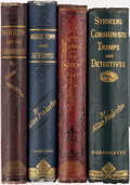 Books:Mystery & Detective Fiction, Allan Pinkerton. Group of Four Detective Books, comprising: Strikers, Communists, Tramps and Detectives. New York: G... (Total: 4 Items)