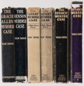 Books:Mystery & Detective Fiction, S. S. Van Dine. Group of Six Philo Vance Books, comprising: The Gracie Allen Murder Case. A Philo Vance Story. N... (Total: 6 Items)