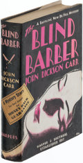 Books:Mystery & Detective Fiction, John Dickson Carr. The Blind Barber. New York: Harper & Brothers, Publishers, 1934. First edition. Review copy, wi...