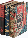 Books:Mystery & Detective Fiction, Rufus King. Group of Three First Editions. New York: The Crime Club, Inc., 1929-1934.... (Total: 3 Items)