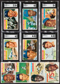 "Baseball Cards:Sets, 1956 Topps Baseball Near Set (338/340) With Both Checklists and Five Team ""1955"" Variation...."