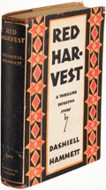 Books:Mystery & Detective Fiction, Dashiell Hammett. Red Harvest. New York: Alfred A. Knopf, 1929. First edition....