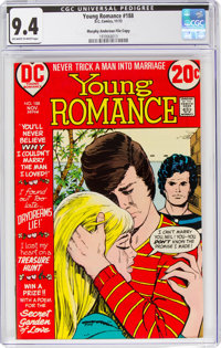 Young Romance #188 Murphy Anderson File Copy (DC, 1972) CGC NM 9.4 Off-white to white pages