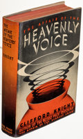 Books:Mystery & Detective Fiction, Clifford Knight. The Affair of the Heavenly Voice. New York: Dodd, Mead & Company, 1937. First edition. ...