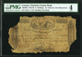 World Currency, Canada St. Andrews, NB- Charlotte County Bank 5 Shillings 12.8.1856 Ch.# 100-10-02 PMG Good 4.. ...