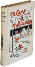 Books:Children's Books, John Kendrick Bangs. In Camp with a Tin Soldier. New York: R. H. Russell & Son, 1892. First edition.. ...