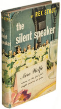 Books:Mystery & Detective Fiction, Rex Stout. The Silent Speaker. A Nero Wolfe Novel. New York: The Viking Press, 1946. First edition.. ...