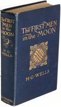 Books:Science Fiction & Fantasy, H. G. Wells. The First Men in the Moon. London: George Newnes, Limited, 1901. First edition, second issue.. ...