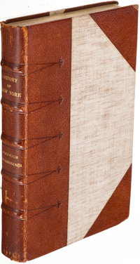 [Washington Irving]. Diedrich Knickerbocker. A History of New-York... London: W. Sharpe, etc., 1821. A New Edition