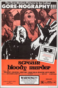 """Movie Posters:Horror, Scream Bloody Murder & Other Lot (Indiepix, 1973). Folded, Overall: Fine+. One Sheets (7) (28"""" X 42"""" & 27"""" X 41""""), Title Lob... (Total: 15 Items)"""