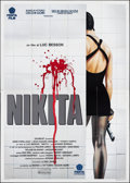 "Movie Posters:Crime, La Femme Nikita (Penta, 1990). Folded, Very Fine. Italian 4 - Fogli (55.25"" X 77.5"") Renato Casaro Artwork. Crime.. ..."